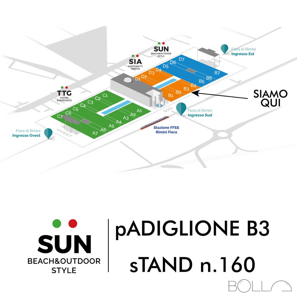 Padiglione B3 Stand 160