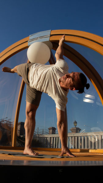 yoga e la bolla